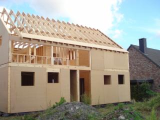 construction ossature bois liege